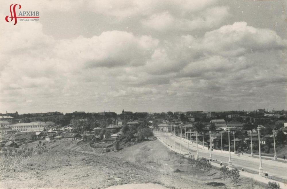 Панорама Разгуляя: Северная дамба, 2 августа 1961 г.