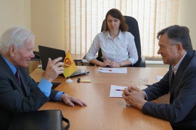 Личная встреча с Александром Терентьевым