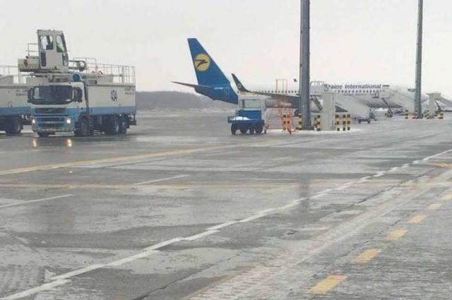В Украину прибыли эвакуированные из Китая туристы