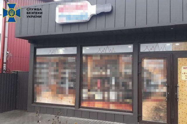 СБУ блокировала схему сбыта контрафактного алкоголя в районе ООС