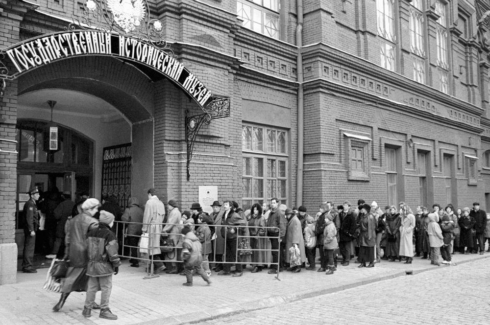 2002 год, в Государственный исторический музей, открывшийся после реставрации.