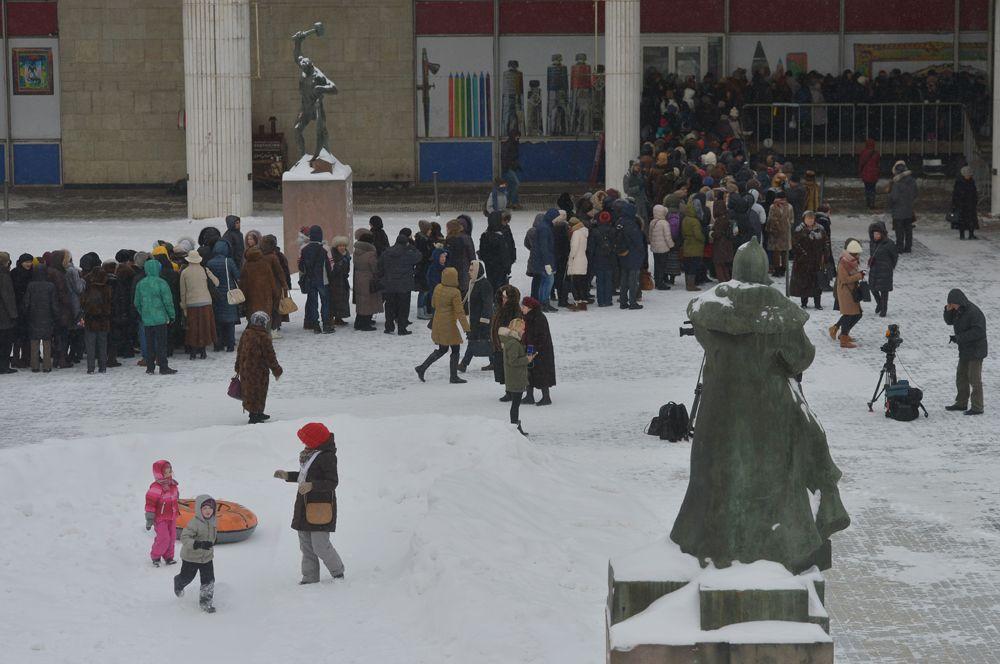 2016 год, в Государственную Третьяковскую галерею на Крымском Валу на выставку Валентина Серова.