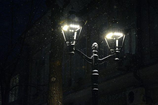 В Оренбурге заменят уличные фонари