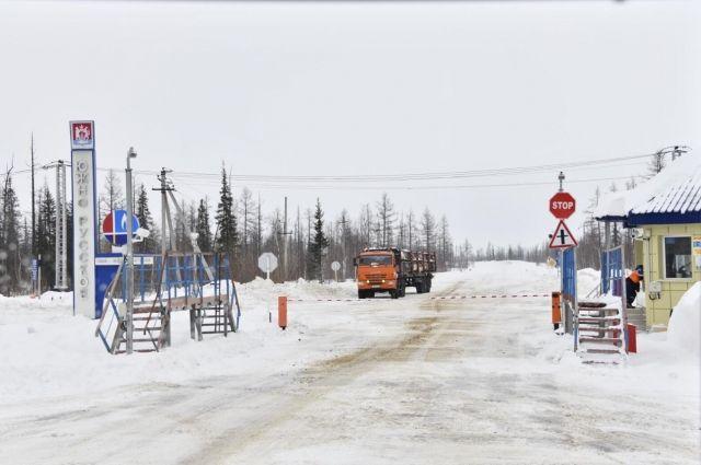 В ЯНАО первого февраля перекроют участок трассы «Красноселькуп - Уренгой»