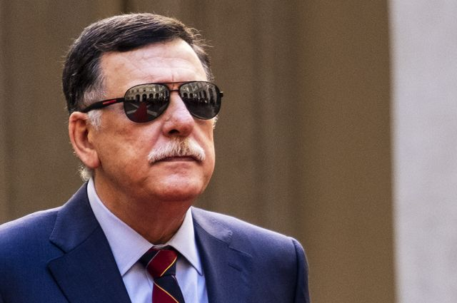 Премьер-министр ПНС Ливии Файез Саррадж.