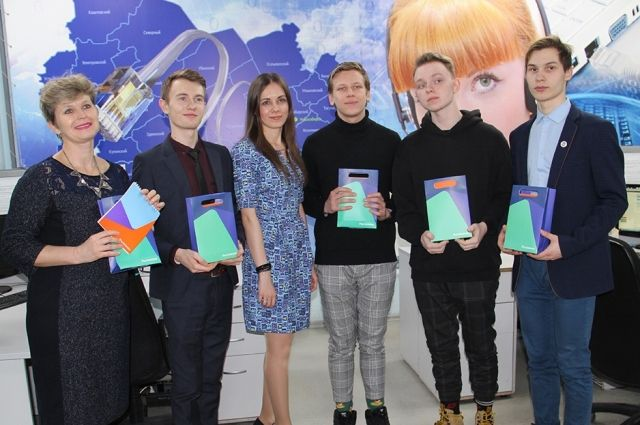Ребята познакомились с работой операторов группы дистанционной сервисной и технологической поддержки клиентов Новосибирского филиала.