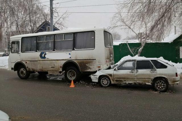 В Оренбурге водитель