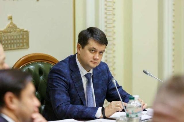 На этой неделе Рада рассмотрит вопрос сокращения числа нардепов, - Разумков