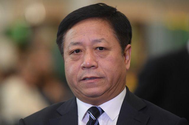 Посол Китайской Народной Республики (КНР) в РФ Чжан Ханьхуэй.