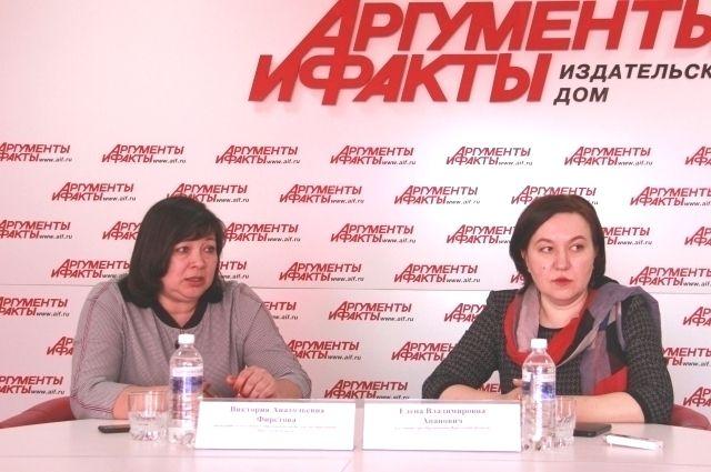 Виктория Фирстова и Елена Апанович.