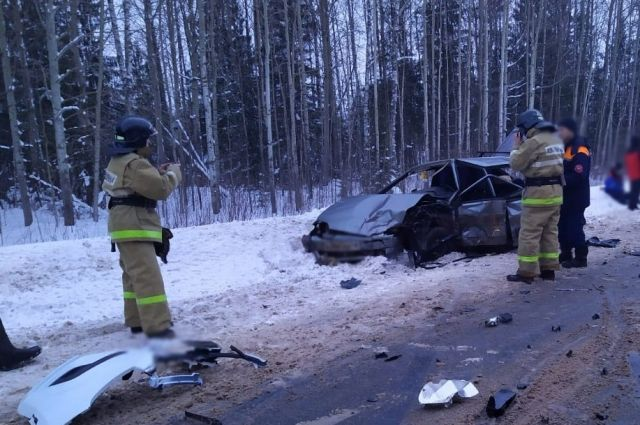 Девушка-водитель устроила смертельное ДТП на трассе в Удмуртии