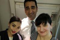 Украинка приняла роды на борту самолета: подробности