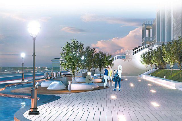 Изменится и станет таким Северный речной вокзал.