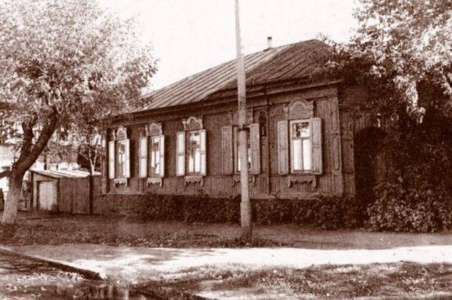 Дом по улице Аксакова, 6, где, предположительно, жил Альбанов.