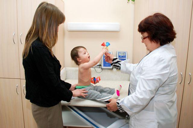 В поликлиниках нового типа малышу не страшно и комфортно.