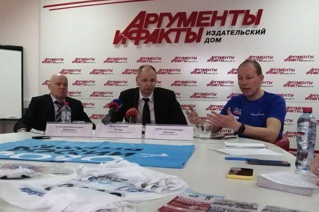 Александр Щербаков, Илья Резник и Артём Детышев.
