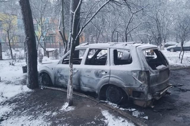 В Киевской области сгорел автомобиль местного депутата
