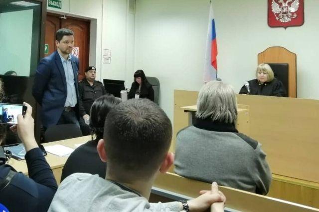 Адвокат Иван Вяхирев в зале суда 5 февраля 2020 года.