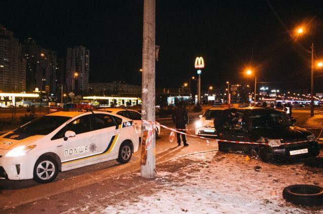 В Киеве двое мужчин устроили погоню и перестрелку с полицейскими