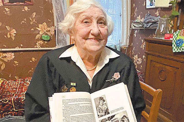 Героев «Детской книги войны» остаётся с нами всё меньше. Татьяна Рудыковская – одна из них.