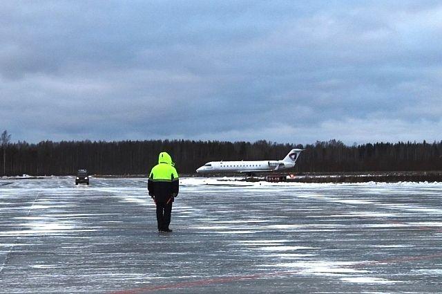 Самолет выполнял рейс Новосибирск - Москва.