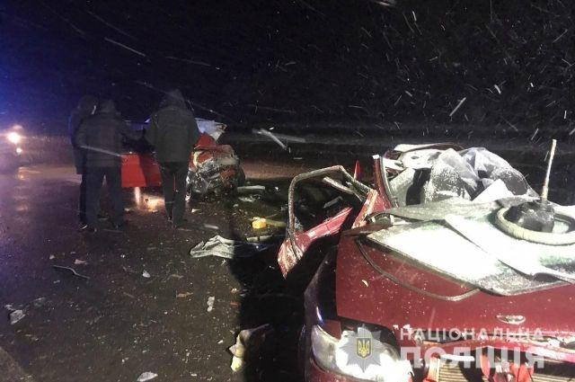 В Харьковской области произошло масштабное ДТП: погибли пять человек