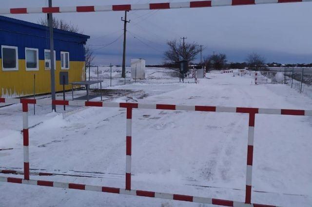 Из-за погодных условий не работают пункты пропуска на границе с Молдовой