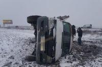 В Запорожской области маршрутка попала в ДТП: есть пострадавшие