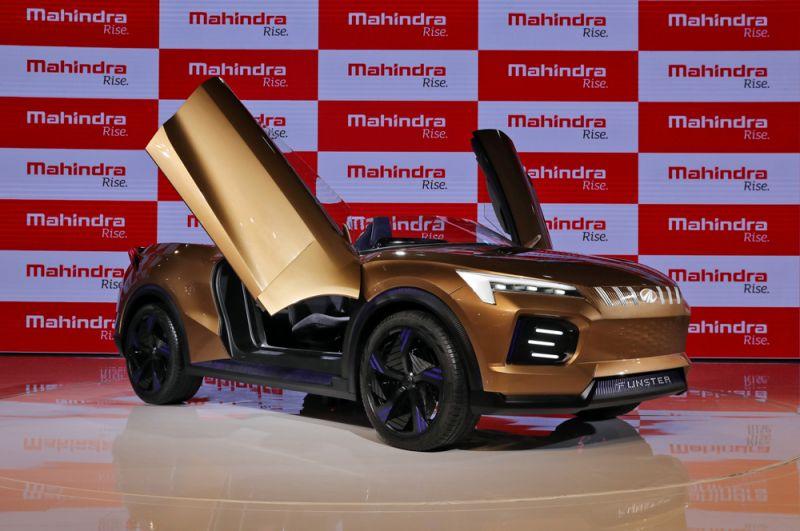 Электрический спорткар Mahindra Funster.