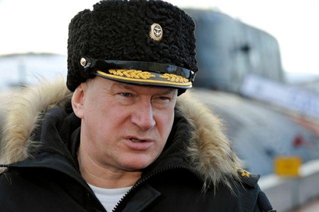 Главнокомандующий ВМФ России адмирал Николай Евменов.