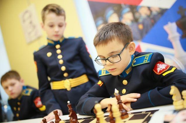 Состязания проходили в Кемеровском президентском кадетском училище.
