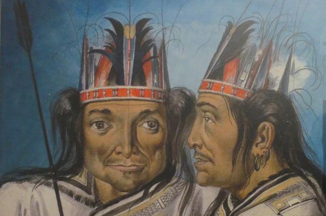 М.Т. Тиханов. Тайон (вождь) с Аляски (1818)