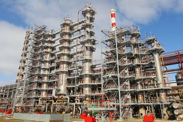 Мозырский нефтеперерабатывающий завод, Белоруссия.