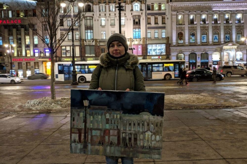 Он назывался «200 портретов Невского».