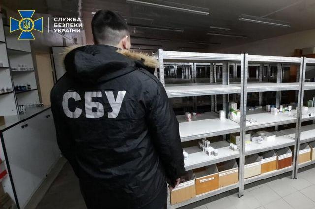 Сотрудники СБУ ликвидировали преступную схему сбыта и изготовления лекарств