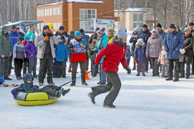 Зимний отдых для детей и взрослых.