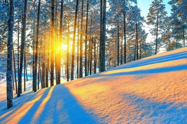 Мороз и солнце ждут украинцев на выходных