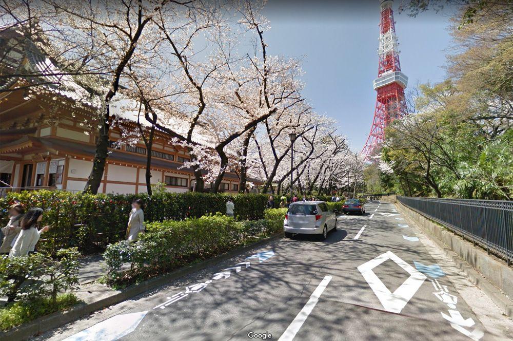 Храм Зодзёдзи, Токийская телебашня и цветущая сакура, Япония. Попасть в Японию в период цветения сакуры — настоящая удача. В это время все улицы усыпаны розовыми лепестками вишневых деревьев. Другая известная достопримечательность Токио — ярко-красная телебашня, которая получила собственный символ эмодзи. Лучший вид на нее открывается с территории буддистского храма Зодзёдзи.