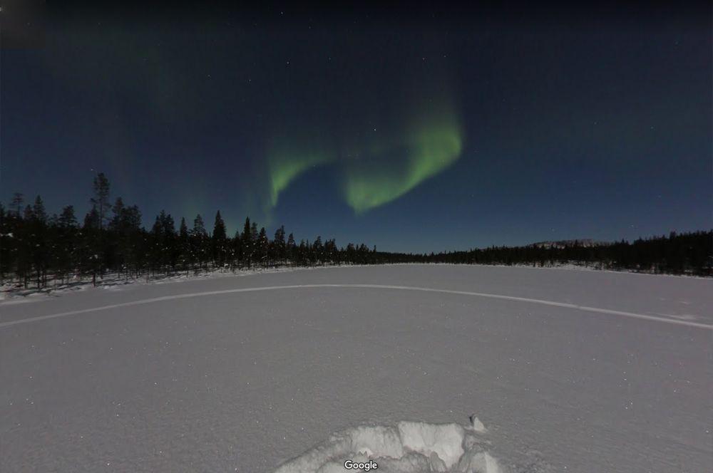 Северное сияние, Финляндия. Одно из самых уникальных природных явлений, которое бывает не так-то просто поймать.
