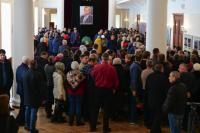 Траурная церемония прощания с депутатом Госдумы РФ Айратом Хайруллиным.