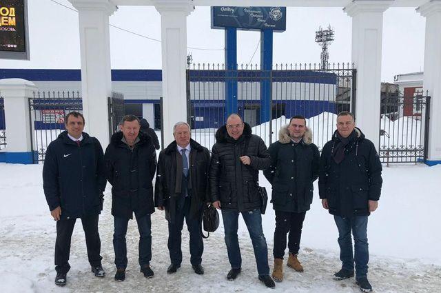 Визит московских гостей