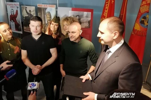 В Оренбуржье «Хор Турецкого» дал старт Году памяти и славы.