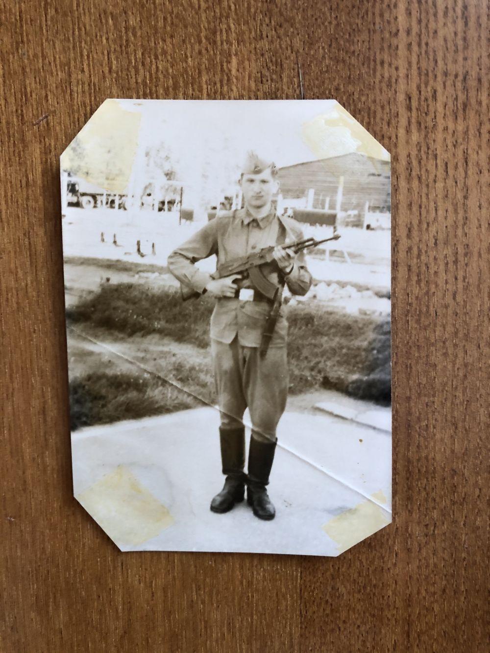 Участник №9: Темирбулатов Равиль Яковлевич. Ракетные войска,1969-1971.