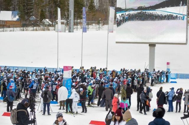 В Красноярске мероприятие впервые прошло на трассах  спорткомплекса «Радуга».