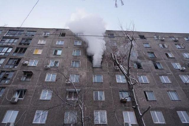 В Днепре произошел пожар в общежитии: есть пострадавшие
