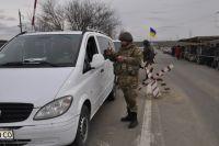 Пограничники на донбасском КПВВ обнаружили украденный автомобиль