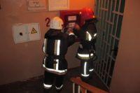 Во Львовском общежитии произошел пожар, есть пострадавший
