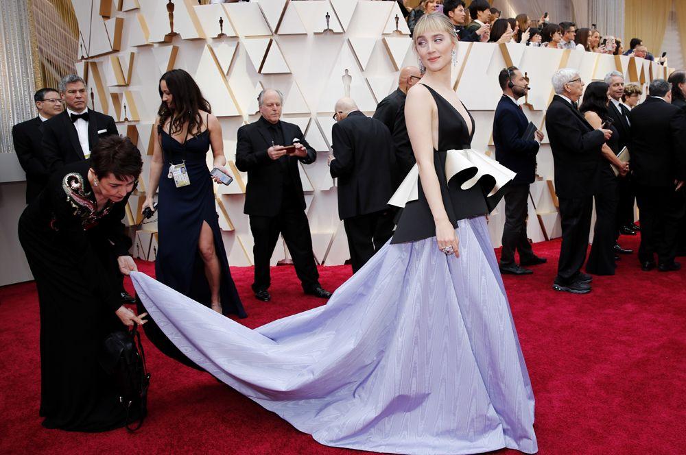 Актриса Сирша Ронан, сыгравшая одну из главных ролей в фильме «Маленькие женщины».