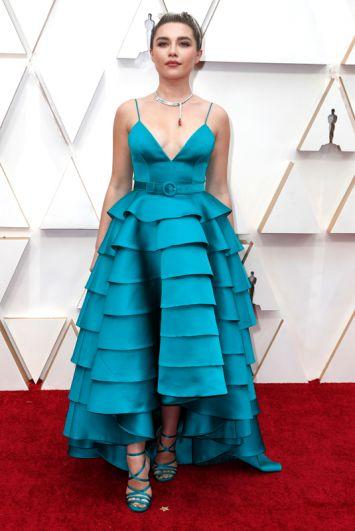 Флоренс Пью, номинированная на «Оскар» как лучшая актриса второго плана за роль в фильме «Маленькие женщины».