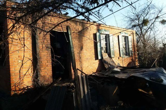 В Харьковской области произошел пожар в жилом доме: есть жертва